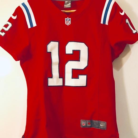 quality design 8604d 0d844 Women's Tom Brady Nike on field Patriots jersey